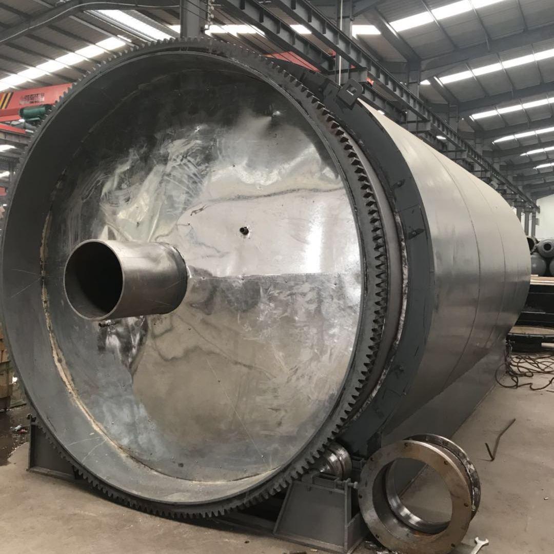 四海能源供应LJ-10废橡胶废塑料环保炼油设备