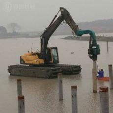 厂家直销挖掘机打桩机 高频液压振动挖坑机 厂家定制