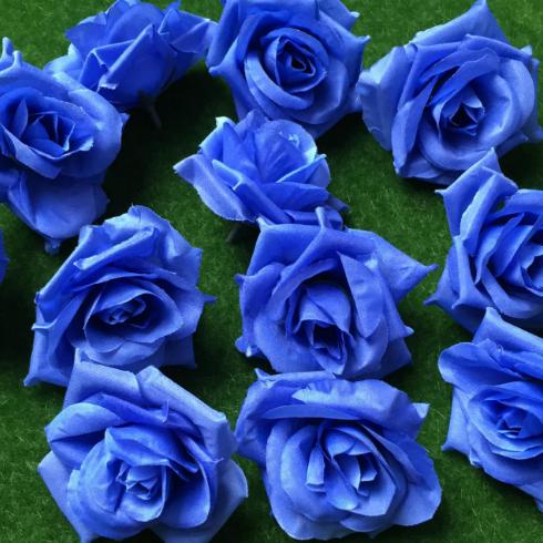 供應 仿真花球 仿真卷邊玫瑰花朵