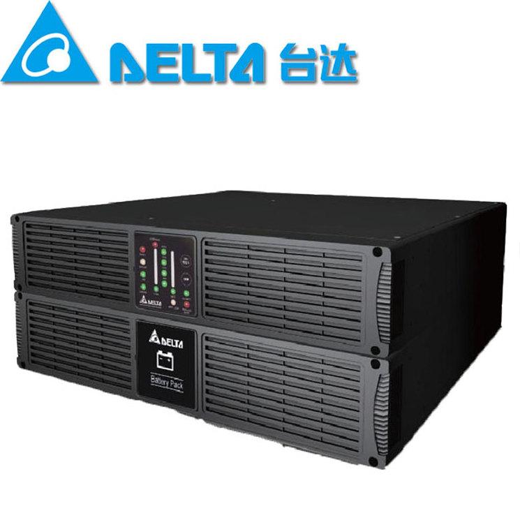 台达R3K UPS电源 3000VA 2100W机架式 中达电通 ups不间断电源