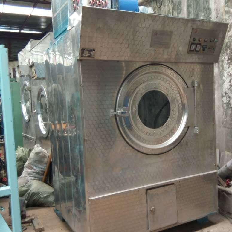 广州强业牌200磅快速节能烘干机 蒸汽节能烘干机 毛巾床单被套烘干机 二手大型工业烘干机