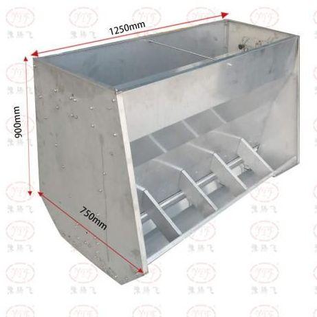 育肥料槽喂猪食槽喂食槽采食槽不锈钢料槽