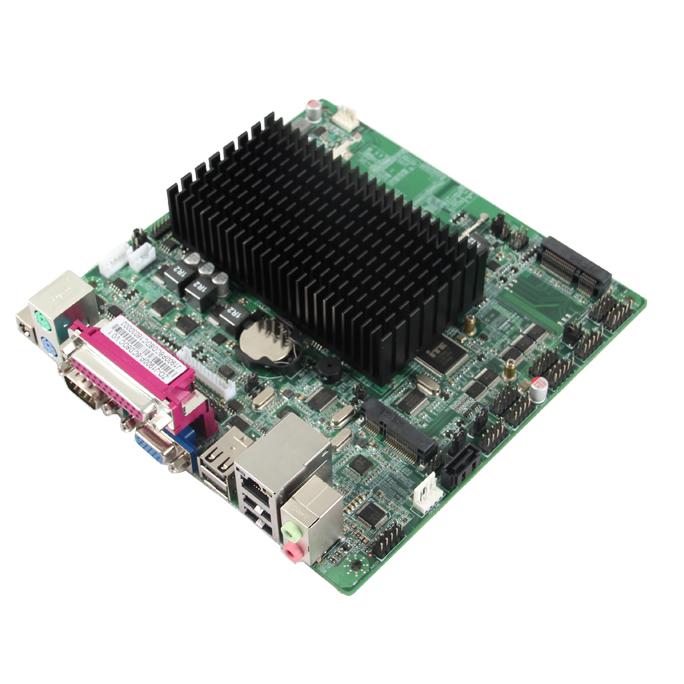 17x17 迷你主板 cpu 集成 支持4G Wifi MINI ITX工业主板厂家 深圳凌壹