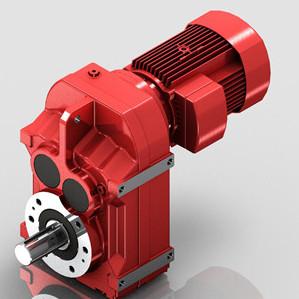 迈传减速机轴装式减速机,F平行轴减速机,迈传F系列减速机直销