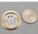 供应 K牌新款全铜防水地插座五孔电话网络地板插座地面插座86圆形地插