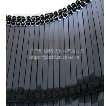 河南北星供应碳化硅预热器陶瓷内筒挂片水泥厂耐磨筒纳米陶瓷内筒挂板