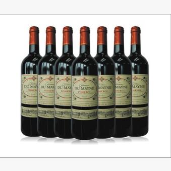 供应 代理批发法国原瓶进口红酒 杜美妮干红葡萄酒 AOC级高档酒批发