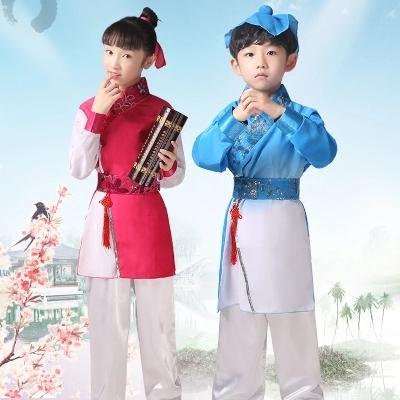 供应 古装儿童汉服国学服服装幼儿