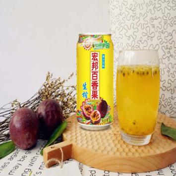 廣西百香果汁飲料 310ml 12罐裝 熱帶果園新鮮西番蓮百香果汁包