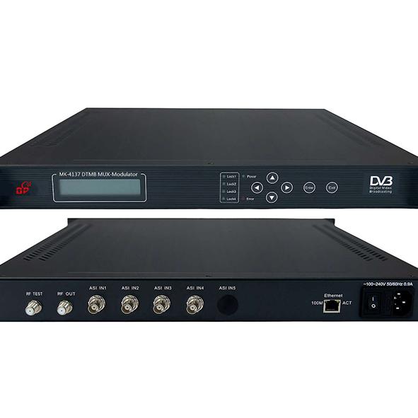 多普智能数字电视前端设备MK-4137 DTMB四路国标复用调制器