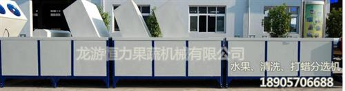 恒力果蔬机械诚信经营(图)|水果清洗机价格|水果清洗机