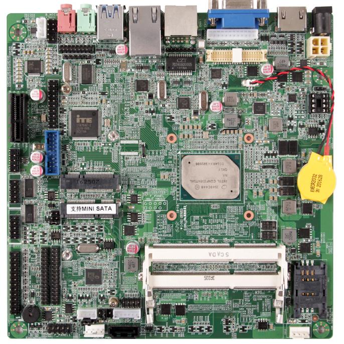迷你主板 cpu 集成 DDR3 Intel Apollo Lake 液晶广告机主板