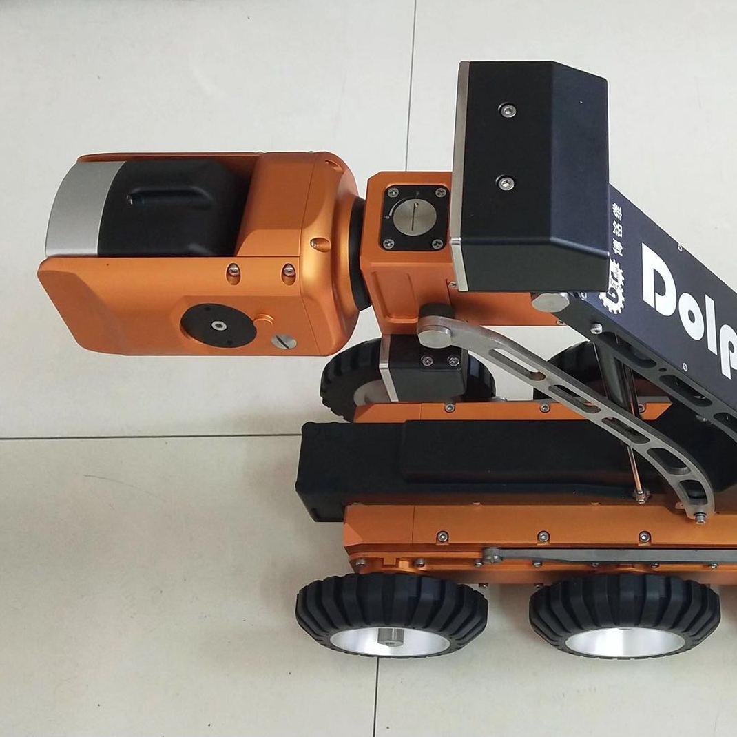 南京曼特内思机械供应 高清无线CCTV管道机器人DolphinRobot-L1