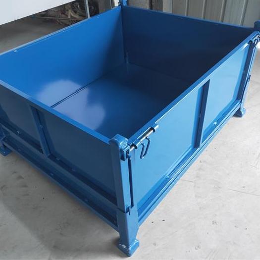 周转箱仓储笼 铁皮铁框物流箱 物料箱 工具铁筐箱周转筐
