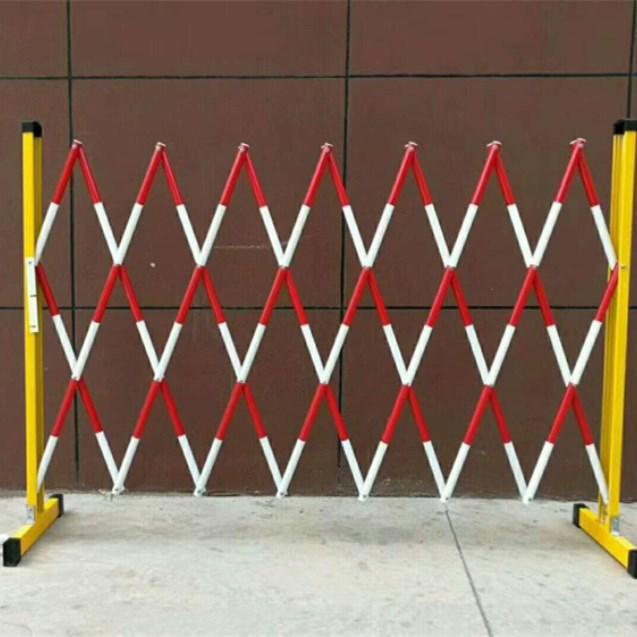 配电室室内安全围栏 玻璃钢管式伸缩折叠绝缘围栏 防护栏批发