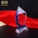 供应 蓝弯水晶奖杯   篮球足球运动会 比赛纪念品