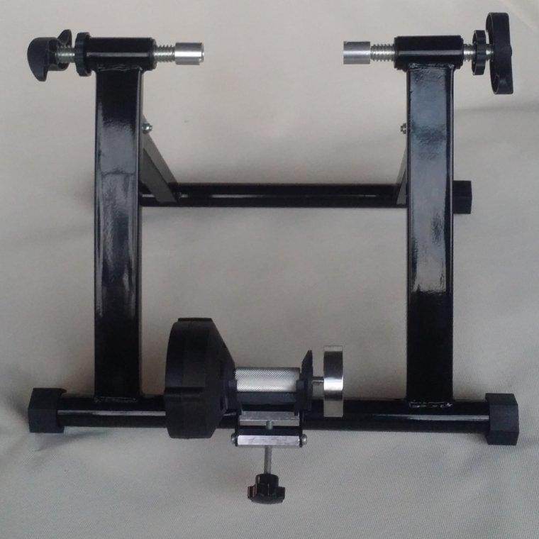 圣德隆MT01室内磁控式单车骑行台无线控健身训练架无级变速阻尼强磁双面飞轮可车架调节阻力安装简单轻巧