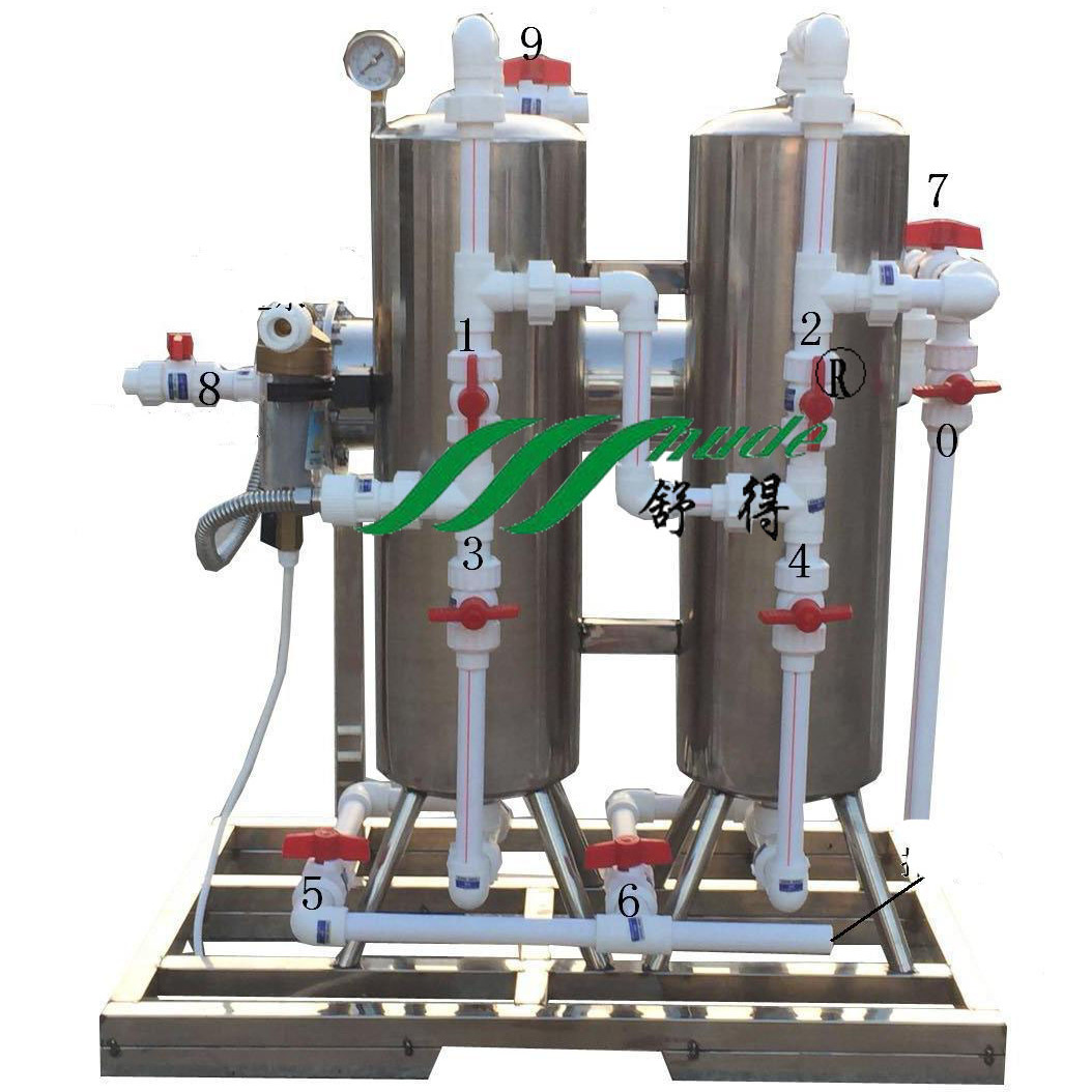 舒得SD-UF-C-002家用井水净水器小型井水净化过滤器