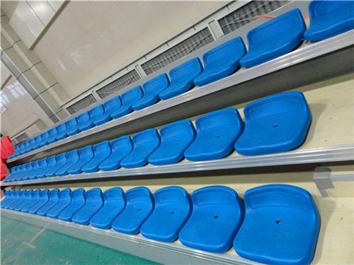 伸缩看台,展达体育(图),全国供应商伸缩看台座椅