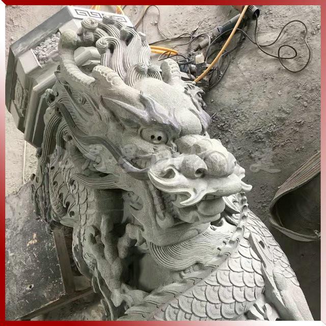 石柱子雕刻凤凰  石雕龙柱 广场景观文化柱