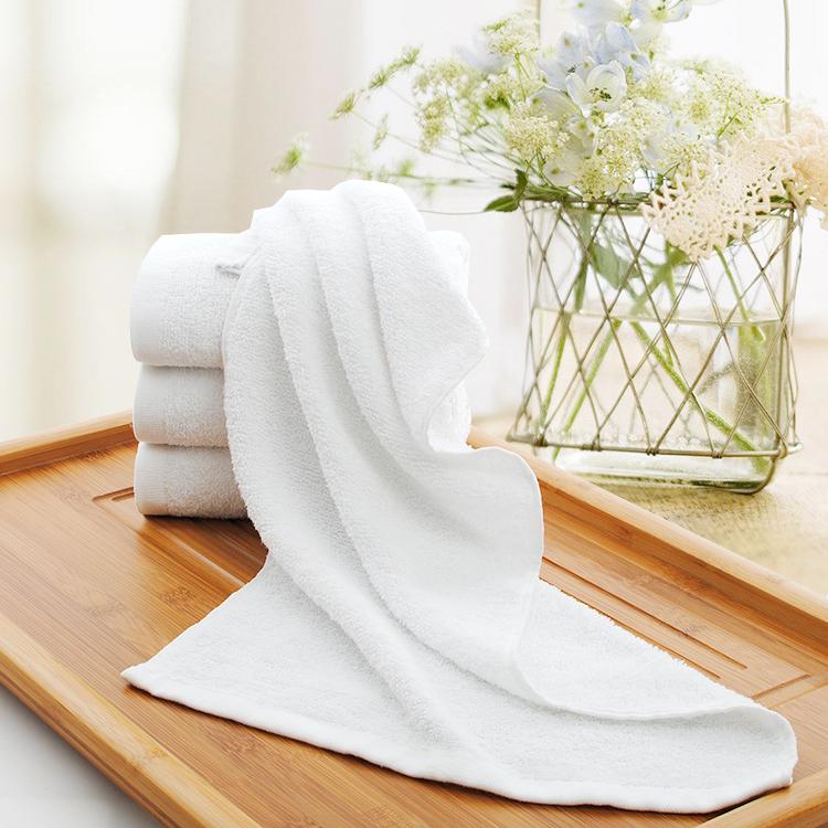 酒店宾馆一次性毛巾纯白毛巾纯棉毛巾