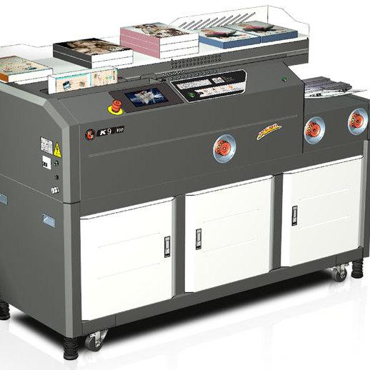 彩霸印后设备胶装机   K9无线胶装机  胶装机领导品牌