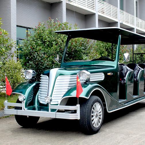 海南新款电动观光车厂家直销旅游景区酒店公园地产楼盘