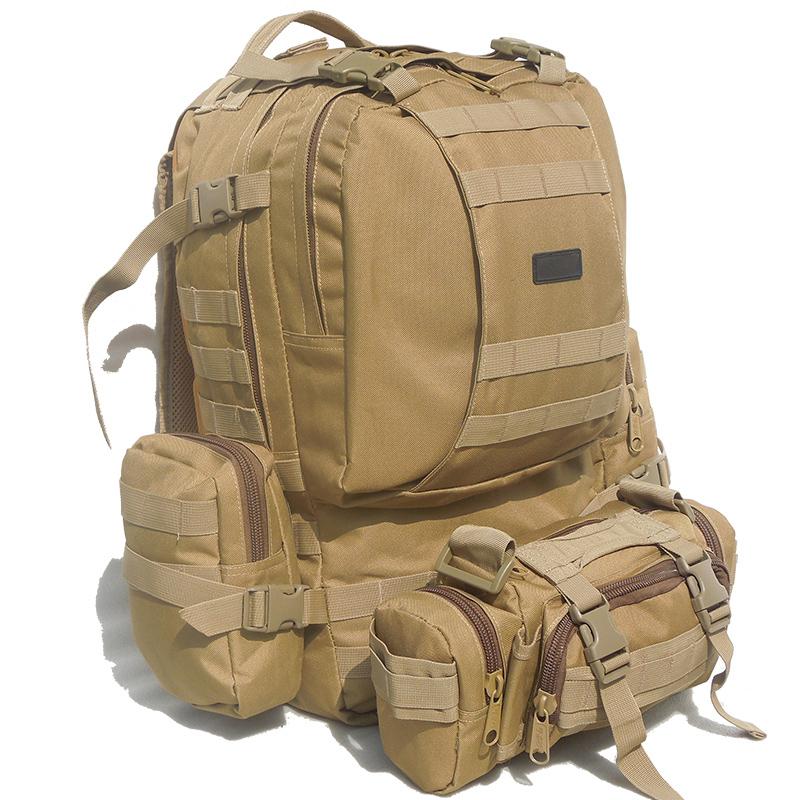 方振箱包批發定制戶外迷彩登山包雙肩包可添加logo