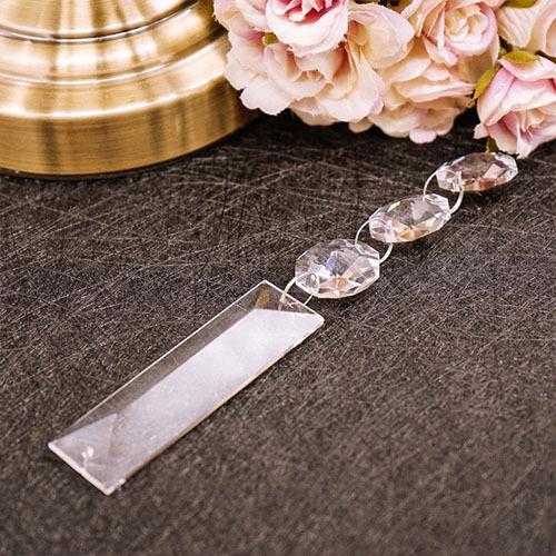 供应 水晶灯饰配件 长条水晶灯饰挂件 可直接定制