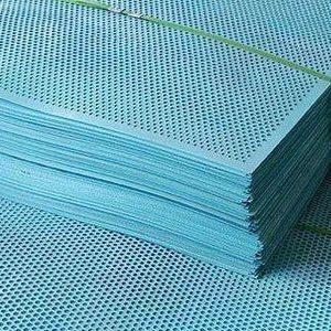 定制建筑安全外围爬架网 圆孔爬架安全防护网冲孔爬架网