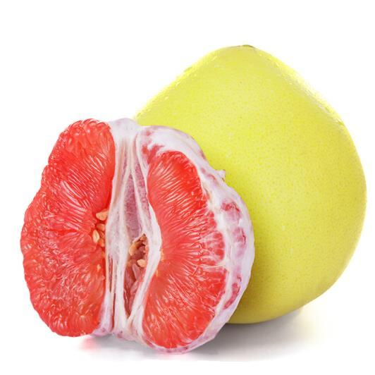 供应 红心柚子 红肉蜜柚 新鲜水果 红心蜜柚2个装 约6斤