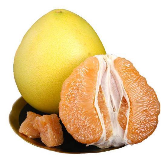 供应 黄心蜜柚 琯溪新鲜黄金柚 黄心柚子 黄肉柚子 非沙田柚 2个装