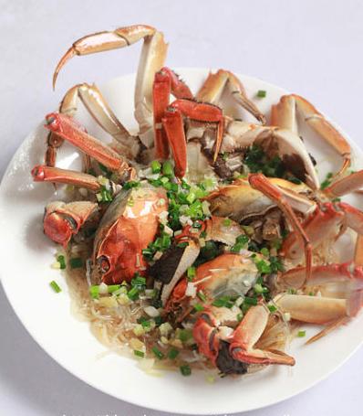 让粉丝吃出螃蟹味 粉丝蒸螃蟹的做法