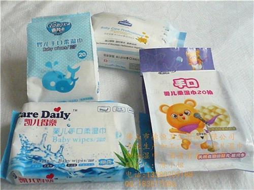 嬰兒濕巾紙、德恒衛生用品(圖)、嬰兒濕巾紙批發