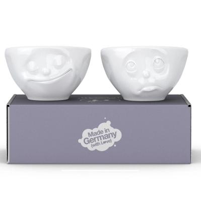 供应 个性卡通3D陶瓷表情碗酸奶甜品碗米饭汤碗