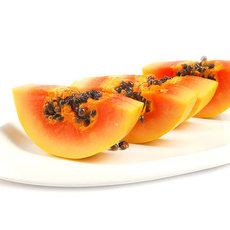 供應 海南水果新鮮紅心牛奶木瓜現摘青皮木瓜