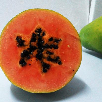 供應 葛根沙拉新鮮水果下奶非紅心番木瓜丁