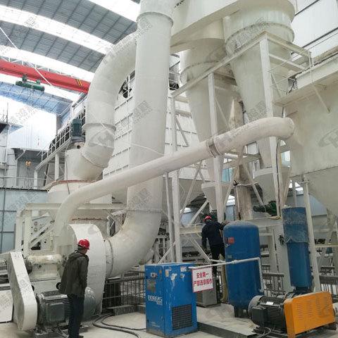 桂林鸿程HC1700矿石400目细粉磨粉机方解石雷蒙磨