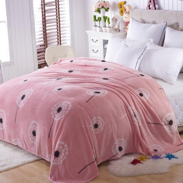 供应 法兰绒毯法莱绒毛毯珊瑚绒毯毯子厂家特价批发加厚保暖