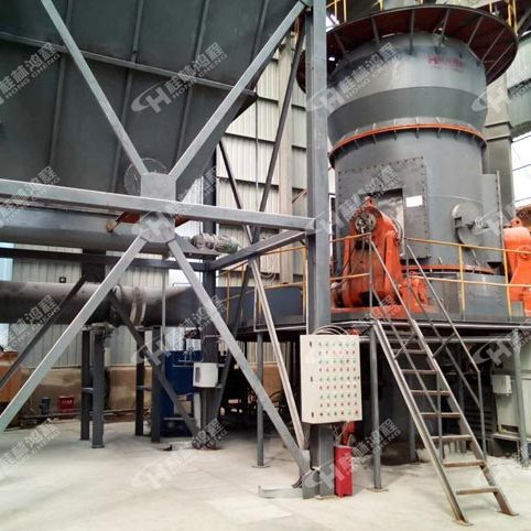 桂林鸿程HLM系列立式磨粉机水泥立磨设备矿山用细粉磨粉机