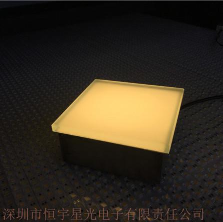 广场LED地砖灯LED广场灯砖户外发光砖定制