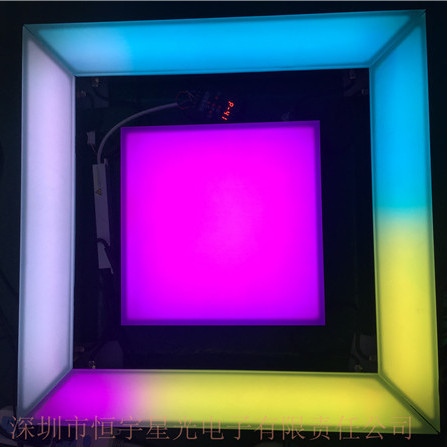 方形广场LED发光砖广场LED灯砖户外广场地砖灯定制厂家