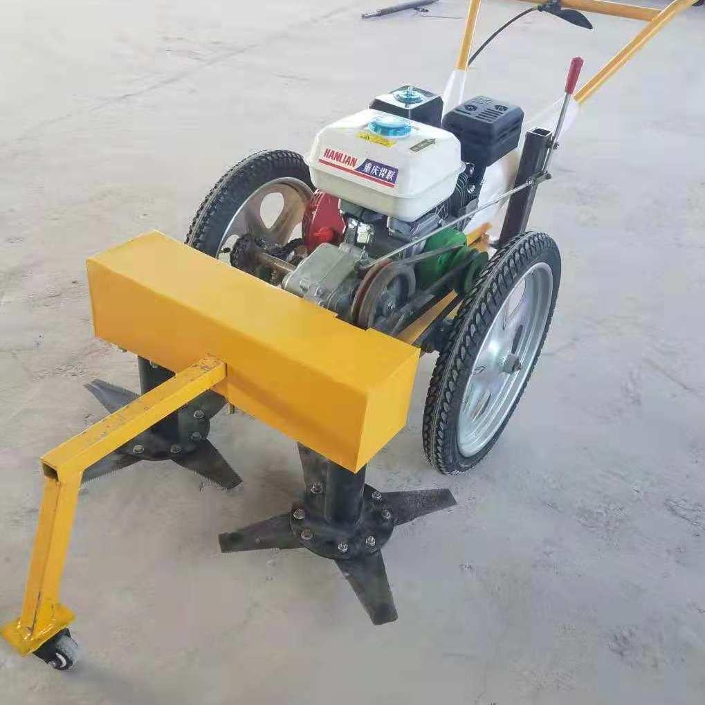 手扶式170汽油發動機7.5匹馬力耕幅80cm小型園林割草機