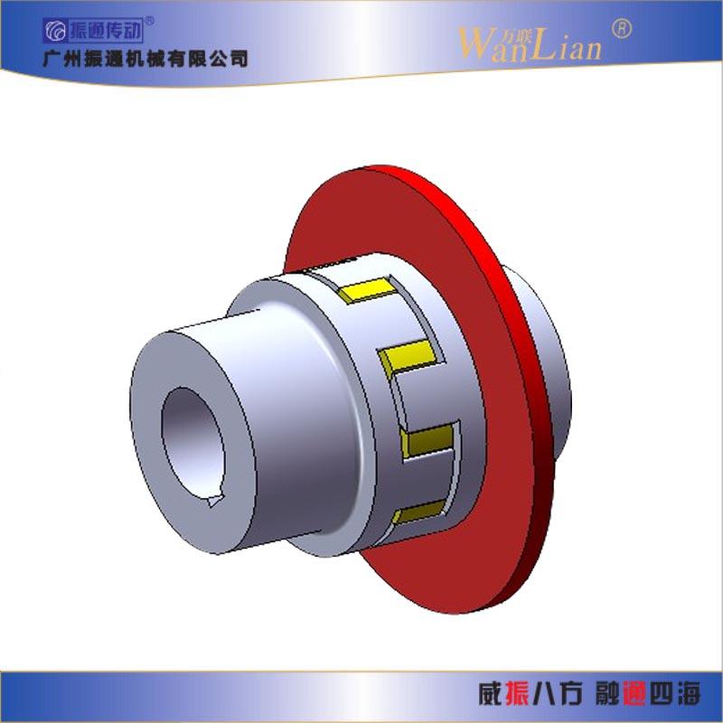 振通传动ZT-P型带制动盘星型弹性联轴器 国内联轴器厂家
