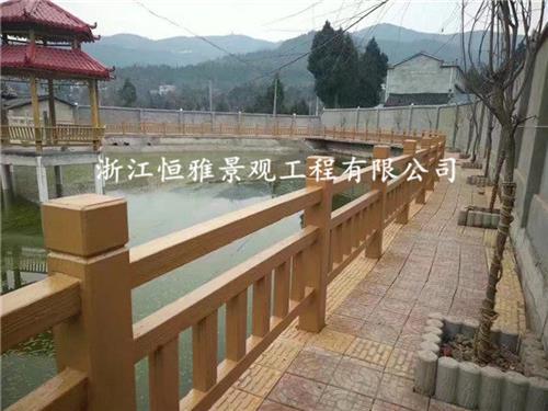 嘉兴仿木护栏,浙江恒雅景观工程有限公司,绿化仿木护栏