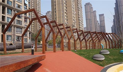 安徽防腐木廊架材质、安徽防腐木廊架、金海桥防腐木廊架
