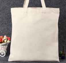 供应 空白手提帆布袋现货定做环保购物棉布袋