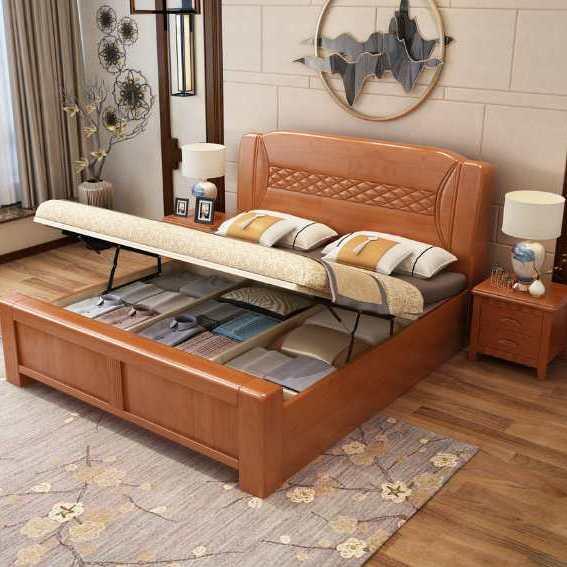 供应南康美丽华家具实木床橡木床衣柜沙发餐台餐椅梳妆台床头柜卧室套房实木家具定制