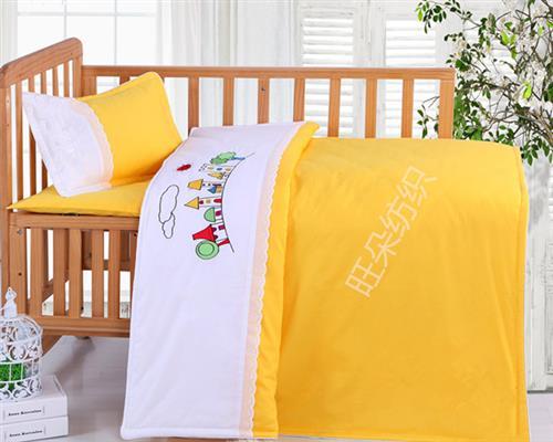 三门峡幼儿园被三件套定制、旺朵纺织、幼儿园被三件套定制厂家