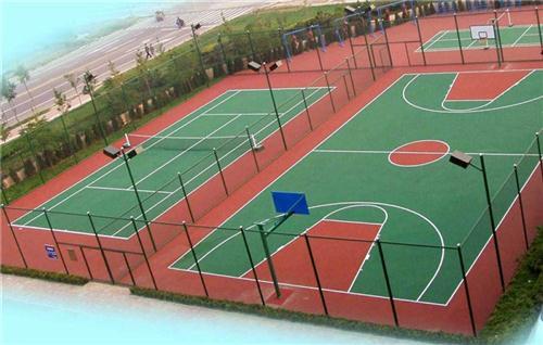 南康篮球场施工,特冠体育专业篮球场施工(图),宜春篮球场施工